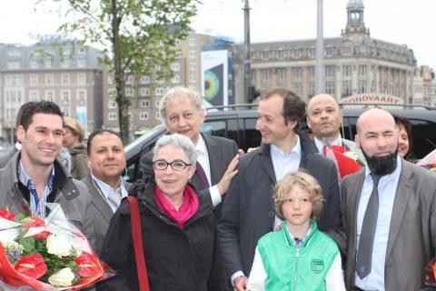 Burgemeester van der Laan, Wethouder Wiebes, TTO, Amsterdam, taxi