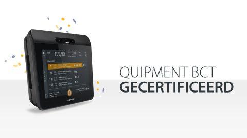 Quipment BCT gecertificeerd, boordcomputer taxi