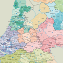 Wmo, KpVV, contractvervoer, regio's, Nederland, taxi, OV, kaart