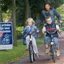 fietsen, kinderen, school