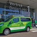 GreenesCab, taxi, groengas, Nissan NV200
