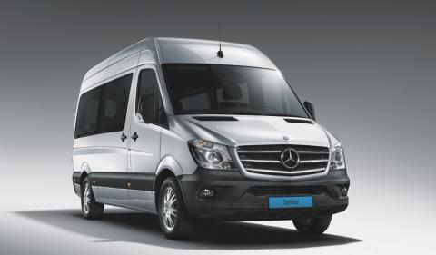 Nieuwe, Mercedes-Benz, Sprinter Combi, taxibus, taxi