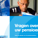 Pensioenfonds Vervoer, pensioenspreekuur, folder