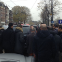 Amsterdam, taxichauffeur, TTO, actie, protest, taxi