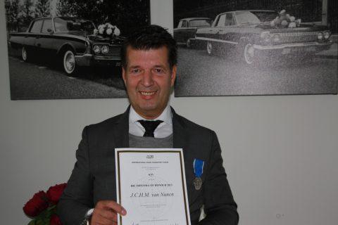 Jan van Nunen, taxibedrijf, directeur, Oisterwijk, IRU-diploma