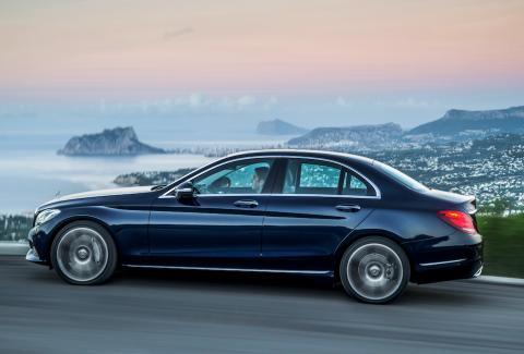 nieuwe Mercedes-Benz, C-Klasse, hybrid, C 300 BLUEtec