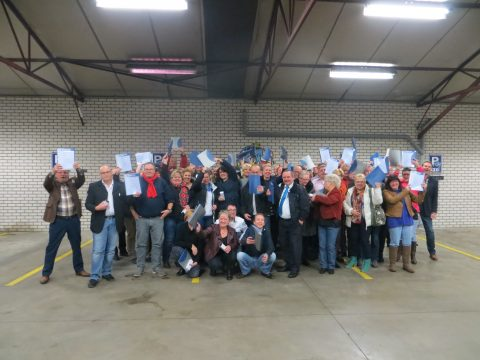 taxichauffeurs Bookhuis, uitreiking, mbo-diploma