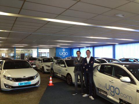 Drive Ugo, taxicentrale, Boyd Sleeman, Mark Stephan