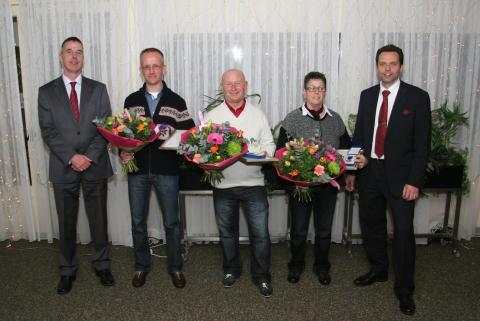 IRU-diploma, uitreiking, Taxibedrijf van den Hout