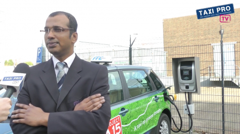 Kris Mohan, taxichauffeur, RTC, Rotterdamse Taxi Centrale, BYD, elektrische taxi, e6