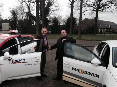 Wim Jansen en Marco van Gerwen, Jansen Taxi, Taxi Van Gerwen, taxibedrijf, overname