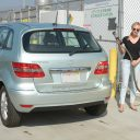 Diane Kruger with her Mercedes F-Cell, Mercedes-Benz, B-Klasse, waterstof