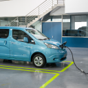 Nissan, e-NV200, elektrische taxi, elektrisch voertuig, personenuitvoering