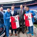 Ad Vasen, Jordy Clasie, Stef Hesselink, Pim van der Boom, Douwe Olijhoek en Tony Vilhena., BIOS-Groep, Feyenoord, Opel