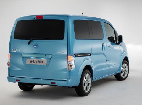 Nissan, e-NV200, elektrische taxi