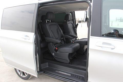 Mercedes-Benz, V-Klasse, instap, taxivervoer