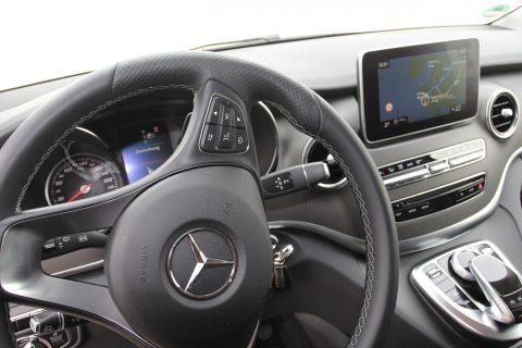 Mercedes-Benz, V-Klasse, cockpit, taxivervoer, dashboard