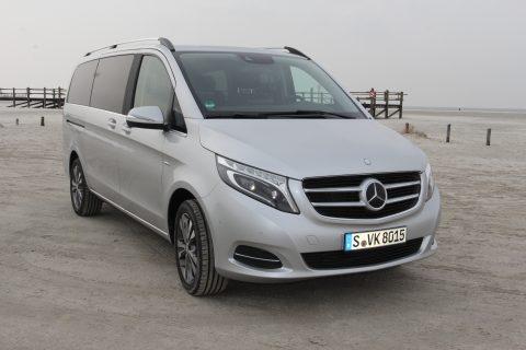 Mercedes-Benz, V-Klasse, personenvervoer, taxi