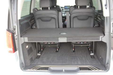 Mercedes-Benz, V-Klasse, taxivervoer, kofferruimte