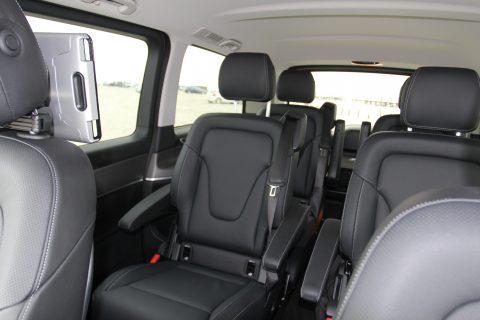 Mercedes-Benz, V-Klasse, taxivervoer, luxe stoelen