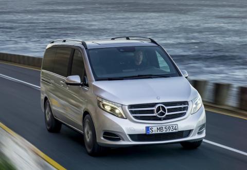 Mercedes-Benz, V-Klasse, taxi, personenvervoer