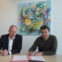 Ondertekening Wmo vervoer Lansingerland- Ruud Braak - Leon Vijverberg