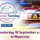 Nationale Taxidag, aankondiging
