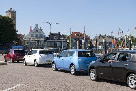 17-Schylge-E-auto, Nissan Leaf, Terschelling, autodelen, project