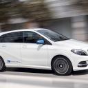 Mercedes-Benz, taxi, elektrische taxi, electric drive