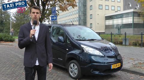 Bart Pals, TaxiPro.nl, rijtest, elektrische, Nissan E-NV200 Evalia, TaxiProTV