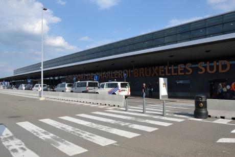 airport, charleroi, vliegveld