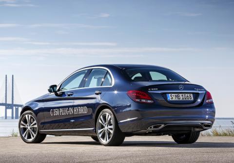 Mercedes-Benz, plug-in hybride, C 350 e, elektrisch