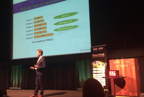 Hans Schaap, GreenStar Statistics, ecobox, rijgedrag-analyse