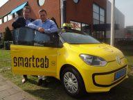 SmartCab, ETS, Hans Landman, Ferry Bosgra, Zaandam, taxi