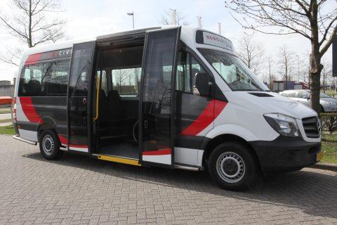 Tribus, Civitas Economy, Lagevloer minibus, Mercedes-Benz, rolstoelbus, taxibus