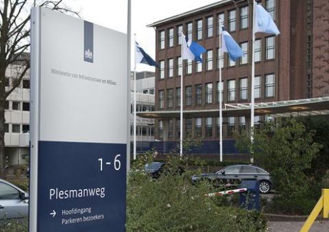 ministerie Infrastructuur en Milieu, Plesmanweg, kantoor, Den Haag, gebouw