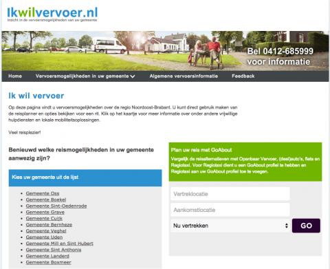 www.ikwilvervoer.nl, website, overzicht, vervoer, vrijwilligers