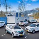 Hyundai, waterstof, auto, brandstofcel, RMC, Rotterdamse Mobiliteits Centrale