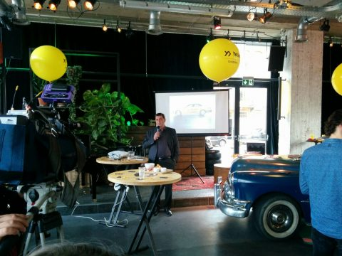 TCA, Richard van der Veen, Yeller, lancering, app, directeur, Taxicentrale Amsterdam