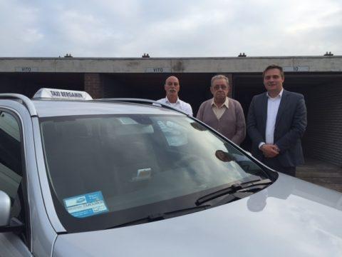 Taxi Bergamin, ETS Taxi, Edwin Muste van ets, Joop Bergamin van taxi Bergamin, Ferry Bosgra van ets