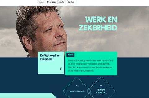 Wet werk en zekerheid, website, www.mijnwerkenzekerheid.nl