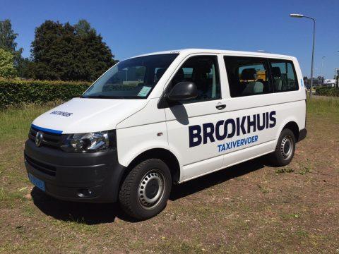 Brookhuis Personenvervoer, taxi, taxibus
