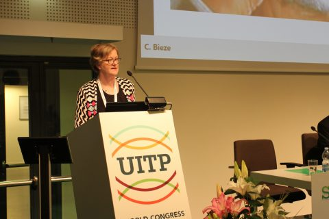 Conny Bieze, gedeputeerde Gelderland, UITP-congres