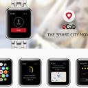 eCab, Apple Watch, app
