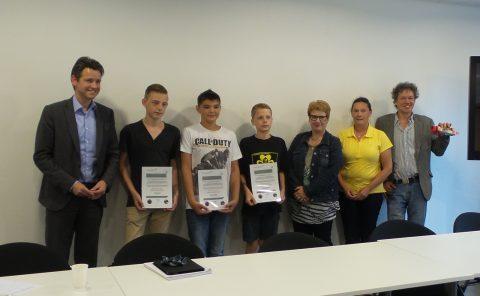 Venray, project, Samen reizen met, leerlingenvervoer, OV, certificaat