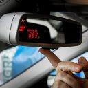 taximeter, taxi, prijs, tarief