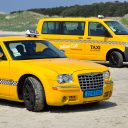 yellow_cab_taxi_Terschelling