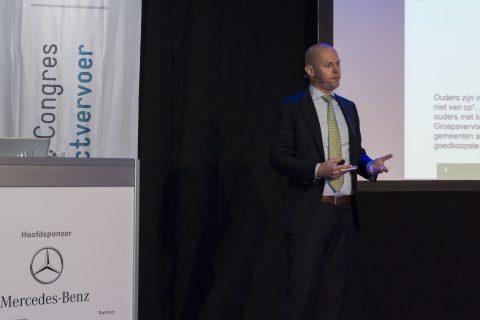 Jeroen Veenendaal, gemeente Rotterdam, Congres Contractvervoer 2015