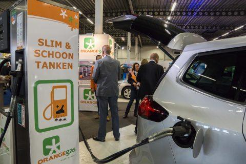 orange gas, taxi expo 2015