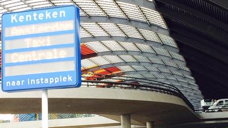 taxistandplaats, cs, amsterdam